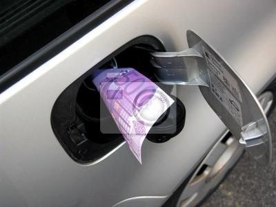Euro im Tank