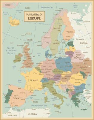 Bild Europa-sehr detaillierte map.Layers verwendet.