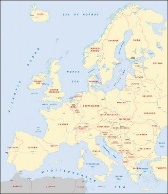 Bild Europakarte