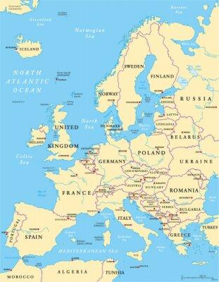 Bild Europe Political Map