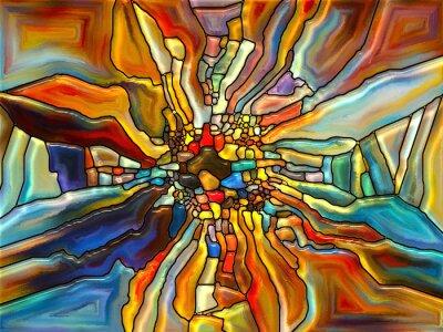 Evolving Glasmalerei