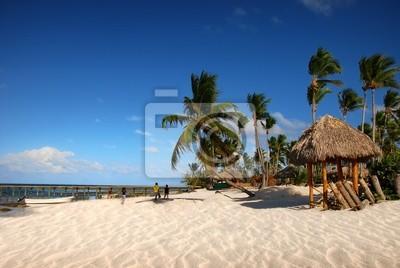 Exotic Beach in Dominikanische Republik