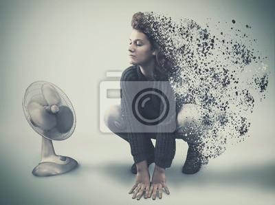 Explosionsdispersionswirkung