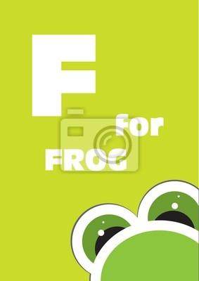 F für den Frosch, Alphabet für Kinder