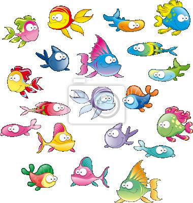 Familie von Fischen