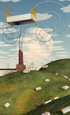Bild Fantasie-Landschaft