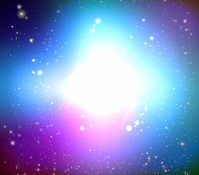 Bild Farbe Galaxie