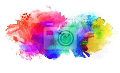 Farben Verlauf Texturen Regenbogen Leinwandbilder Bilder