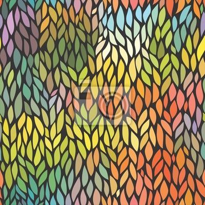 Farbige Blatt