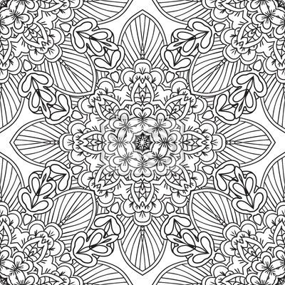 Färbung seiten für erwachsene.decorative hand gezeichnet doodle ...