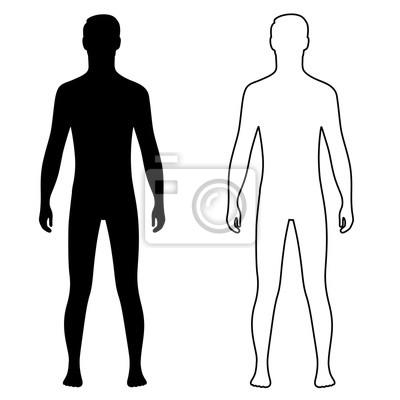 21 Mensch Umriss Ideen Mensch Silhouette Silhouette Mensch 2