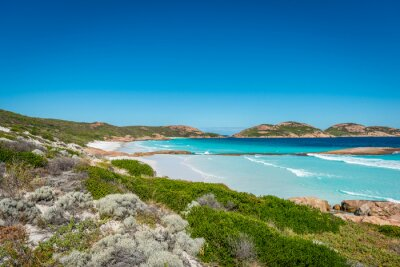 Bild Felsen am Strand, Lucky Bay, Esperance, Western Australia