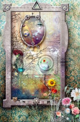 Fenster im Märchenland