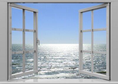 Bild Fenster zur Sommerzeit - 3D