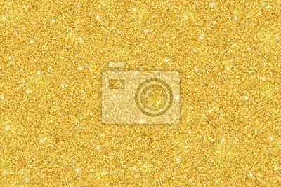 Bild Festlicher Hintergrund des Goldfunkelns, horizontale Beschaffenheit