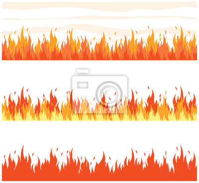 Flammen Feuer Aufnäher Bügelbild Iron on Patches Applikation: Amazon.de:  Auto