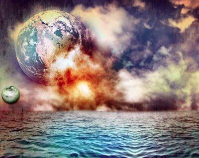 Bild Feuer im Meer
