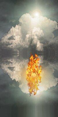 Bild Feuer und Wasser
