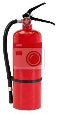 Bild Feuerlöscher auf weißem Hintergrund