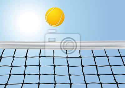 Filet de Tennis_Balle_Ciel