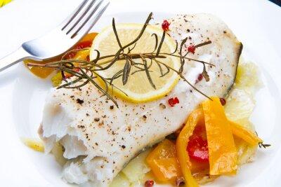 Bild Filetto di merluzzo con peperoni