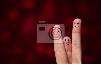 Bild Finger hug