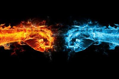 Bild firefist vs Eisfaust