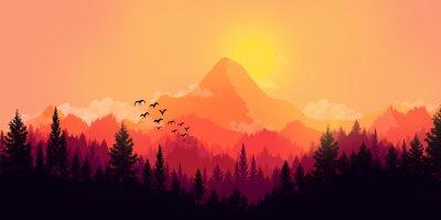 Bild Flache Landschaft