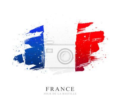 Bild Flag of France. Independence Day. Bastille Day.