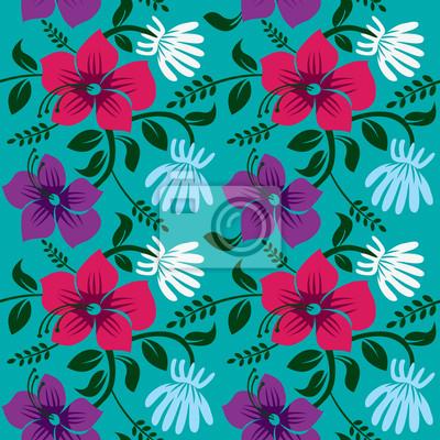 Floral background, Vektor-Illustration