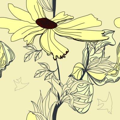 Floral nahtlose Hintergrund