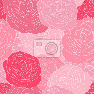 Bild floral nahtlose Muster mit Flowersr Rosen.