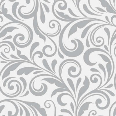 Bild Floral seamless vector pattern. A swirl background and wallpaper with curled items. An ornament seamless floral pattern.