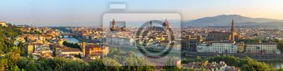 Bild Florence city skyline panorama - Florence - Italy