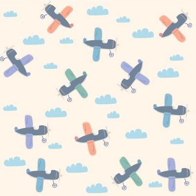 Bild Flugzeugmuster