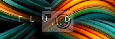 Bild Fluid color motion concept