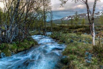 Bild Fluss in Norwegen