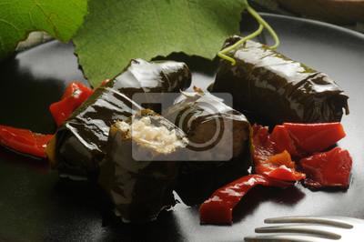 Bild Foglie di vite ripiene di riso ft7109_9766 Vine leaves stuffed with rice