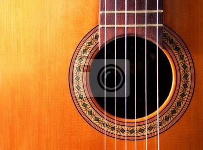 fondo musikalischen con Guitarra española
