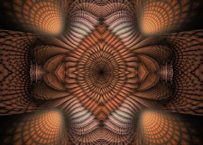 Bild Fractal Pinnate Hintergrund - Fraktal-Kunst