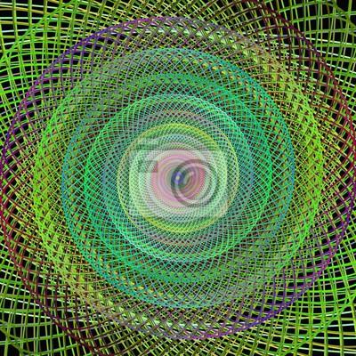 Fractal Spirale Design Hintergrund