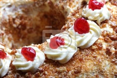 Frankfurter Kranz Kuchen Leinwandbilder Bilder Gefrostet