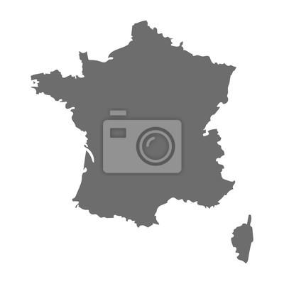 Bild Frankreich Karte