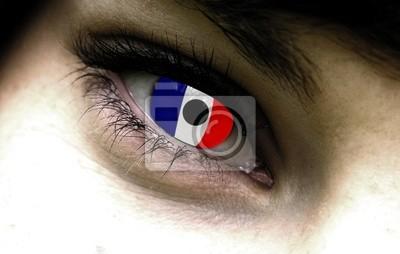 französisch Auge