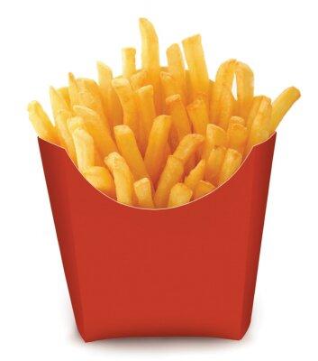 Bild französisch frittierte Chips