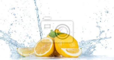 Bild Fresh Fruit with water splash