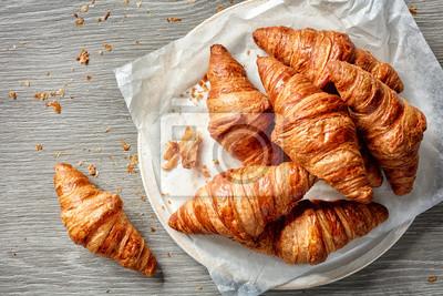 Bild Frisch gebackene Croissants
