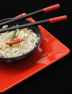 Bild Frische Pampelmuse thai-Salat