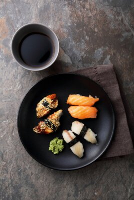 Bild Frische Sushi mit Fisch
