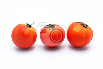 Frische Tomaten isoliert, Thailand Gemüse